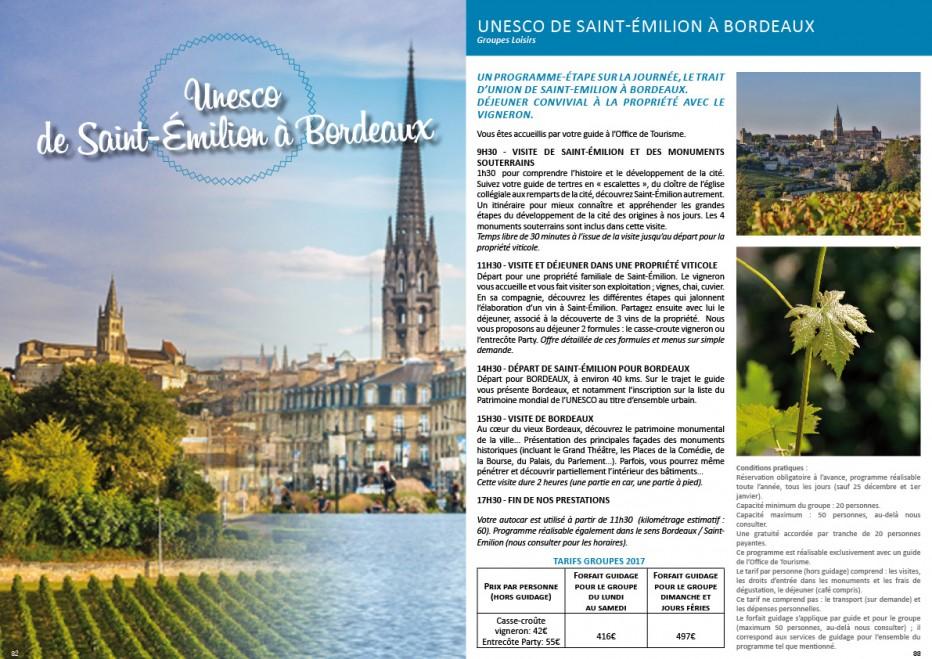 Unesco de saint emilion bordeaux site de l 39 office de - Office de tourisme bordeaux horaires ...