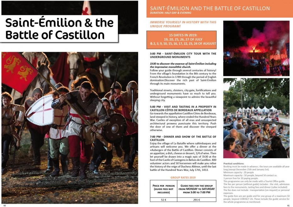 Saint-Émilion and the Battle of Castillon - Site de l'Office