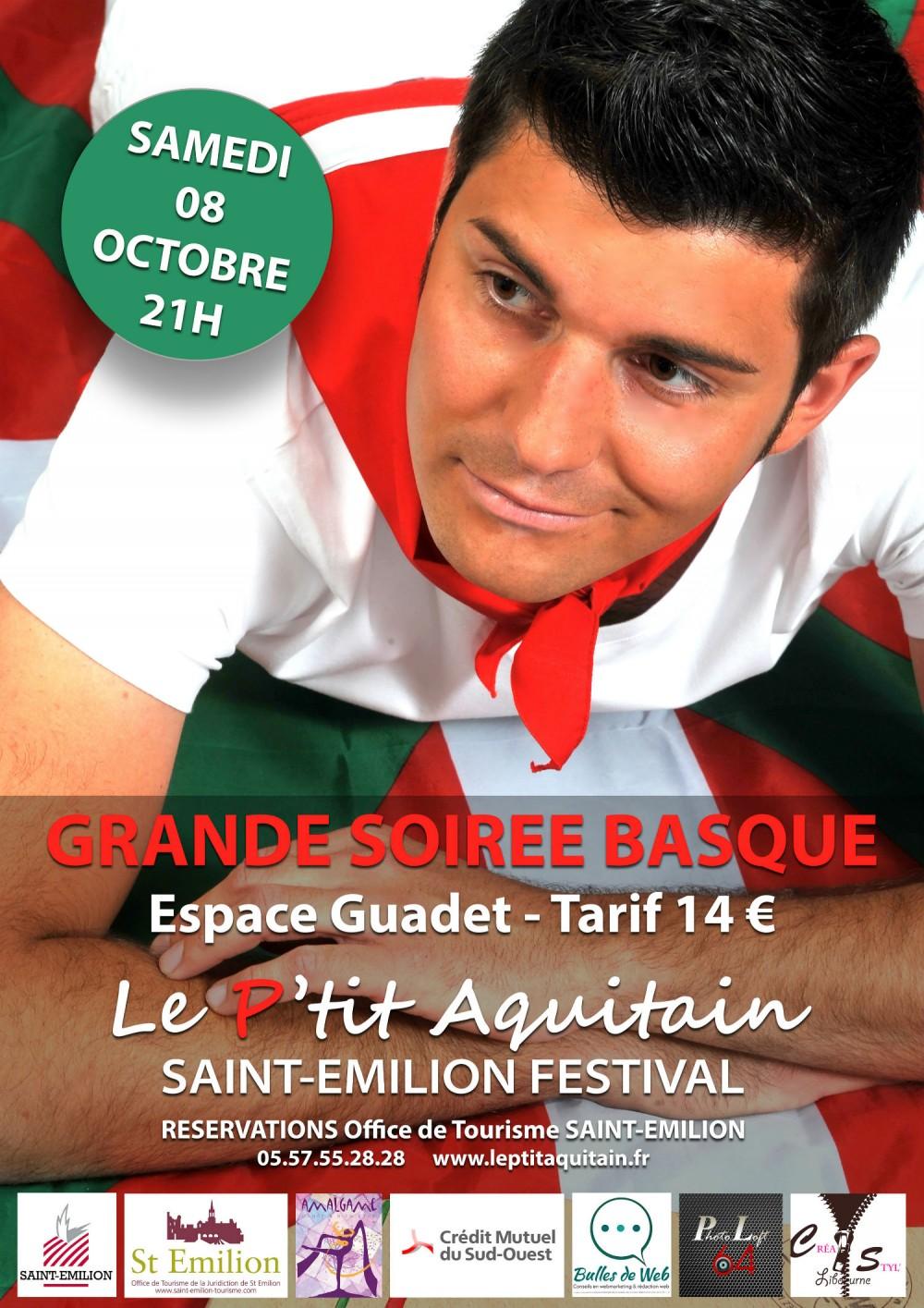 Le p 39 tit aquitain saint emilion festival site de l 39 office de tourisme du grand saint emilionnais - Office du tourisme st emilion ...