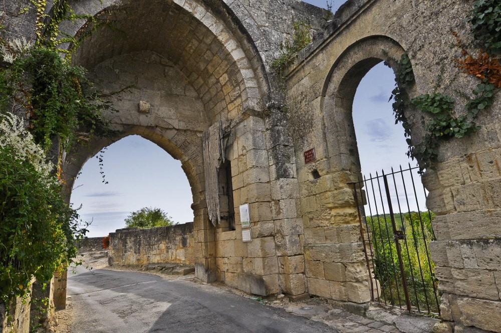 La porte brunet site de l 39 office de tourisme du grand saint emilionnais - Office du tourisme de saint emilion ...
