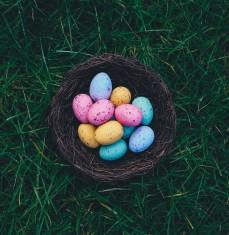 Chasse aux oeufs de Pâques à l'Hostellerie de Plaisance