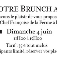 Brunch au Château Tour Saint-Christophe