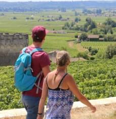 Paseo por los viñedos de Saint-Emilion