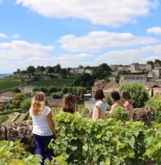 Paseo y cata en Saint-Émilion