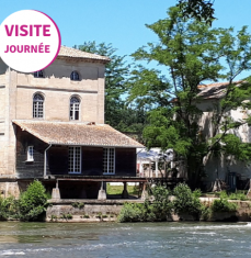 In the heart of Porchères water mill