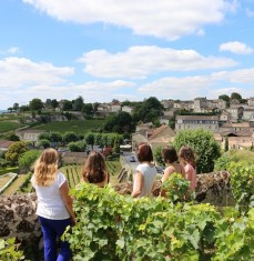 Stroll and tasting in Saint-Émilion