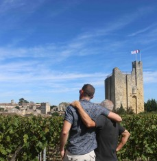 A stroll through the Saint-Émilion vineyards (private tour)