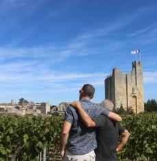 Paseo por los viñedos de Saint-Émilion (visita privada)