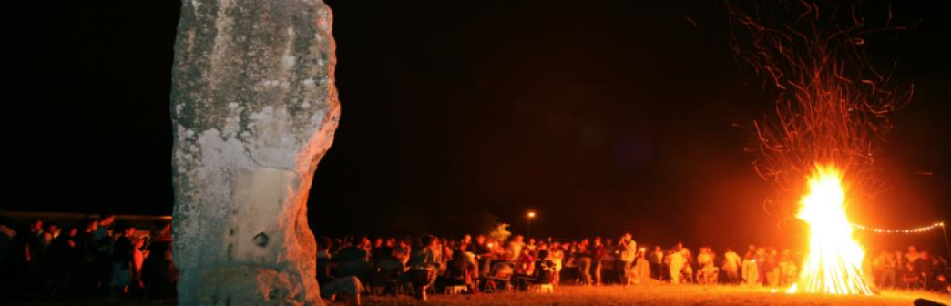 Fête du Solstice - Menhir de Pierrefitte